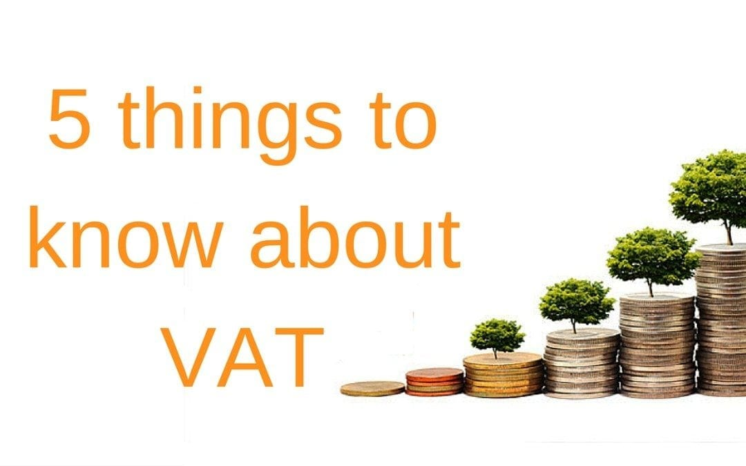 5 things to know about VAT